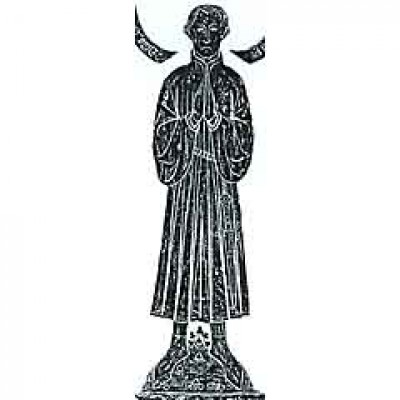 Stolen monumental brass effigy