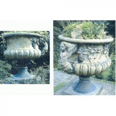 Seven matching urns stolen