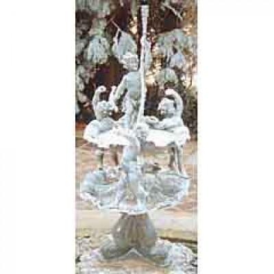 Lead fountain stolen