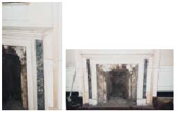 Six marble chimneypieces: Part 2
