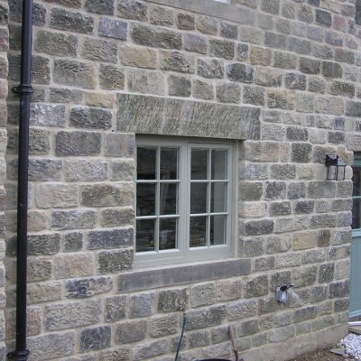 Reclaimed Punch Faced Stone