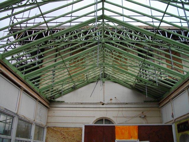 Victorian Cast Iron Conservatory