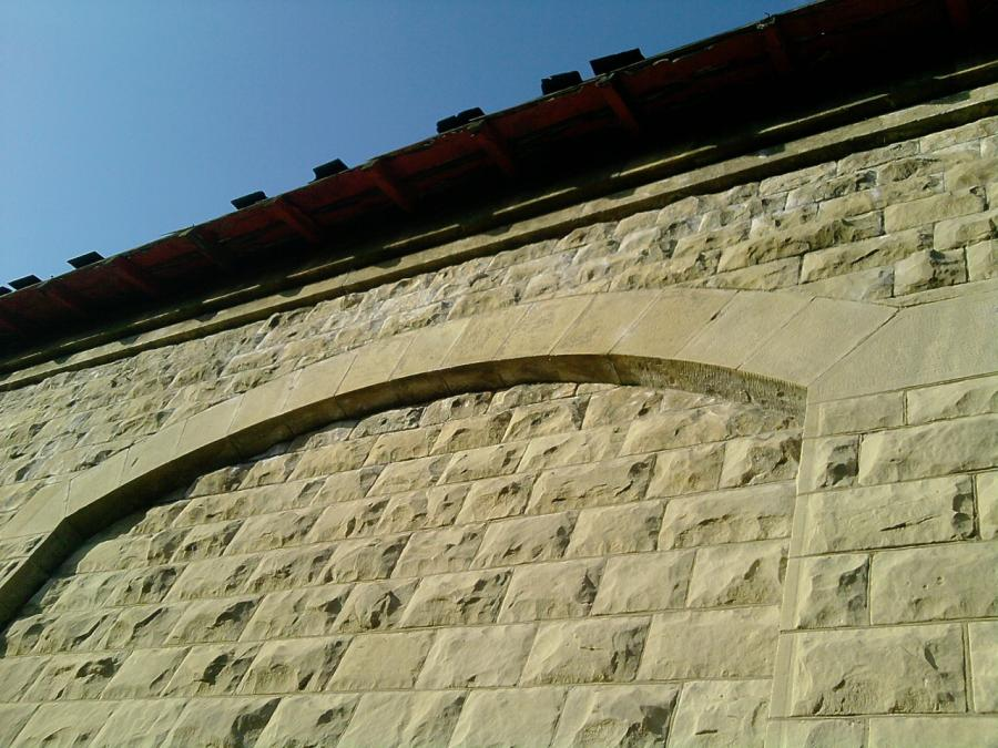 Limestone Punch and Pitched Faced Stone Buildings