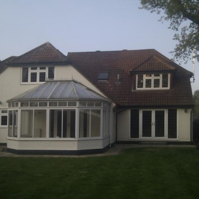 AMDEGA conservatory - Bargain - lead roof beautiful windows