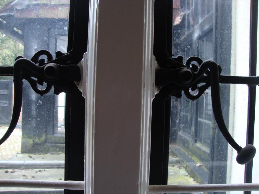 Leadlight metal Georgian and diamond style antique windows