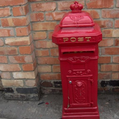 Letter boxs post boxs for hire aswell weddings