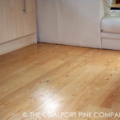 New Maritime Pine Wood Flooring
