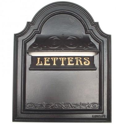 Cast Iron Letterbox  Bourdon P5