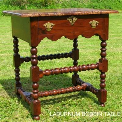 Laburnum side table
