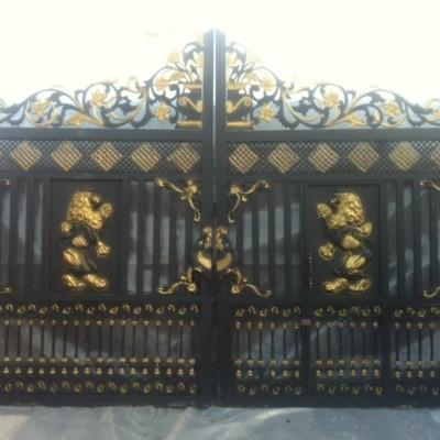 Ornate Metal Gates - 12ft