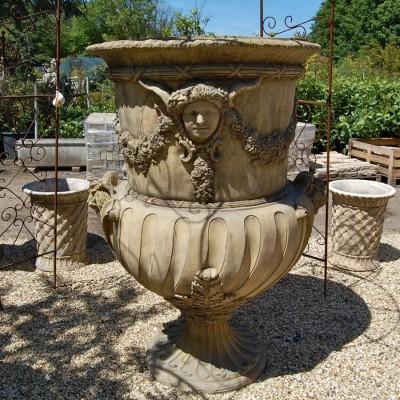 Large Decorative Stone Vase