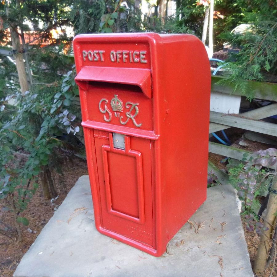 Vintage Style GR or ER Post Office Letter Box