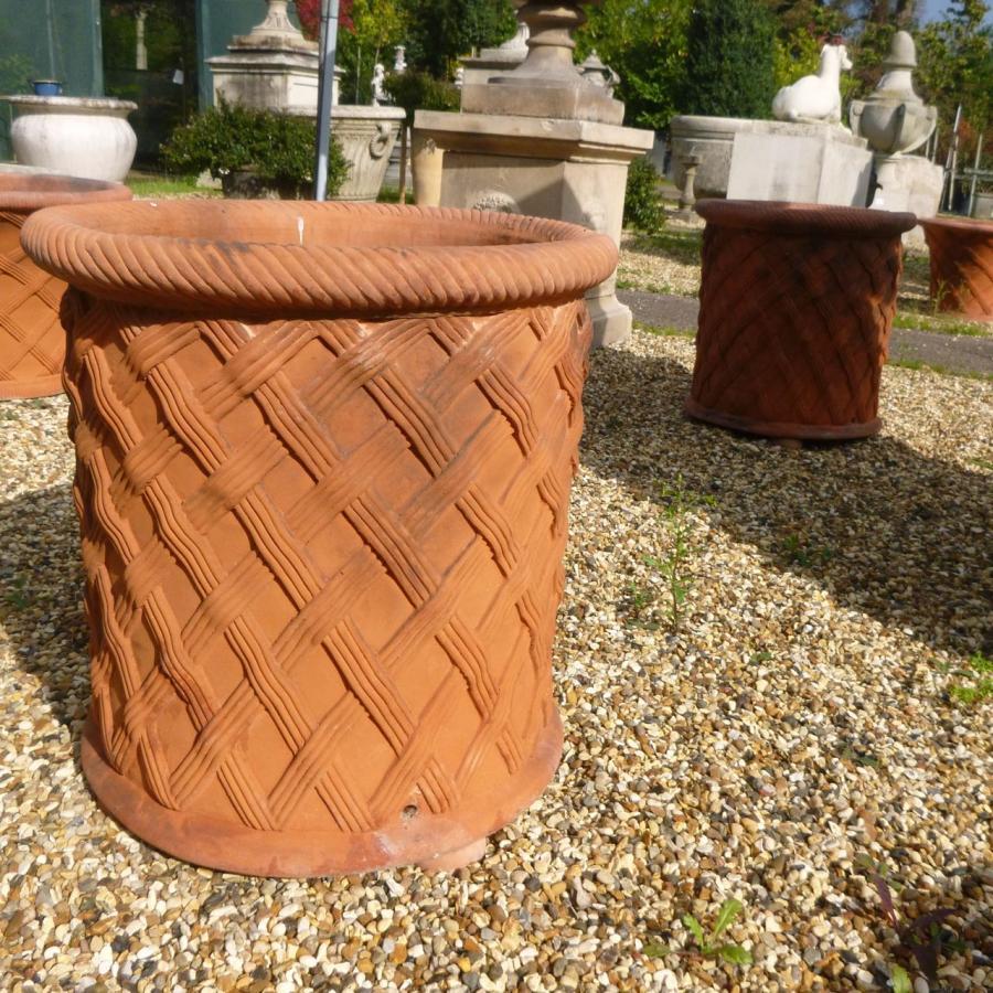 Weave Basket Urns