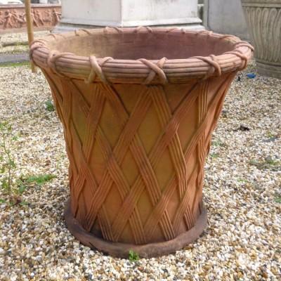Large  Weave Basket Pots