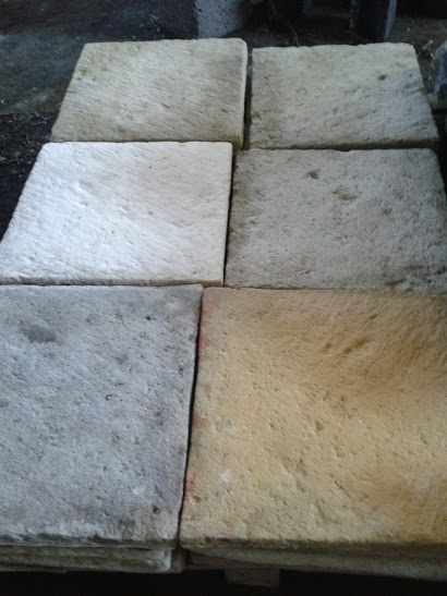 Flagstone similar to Yorkshire stone slab
