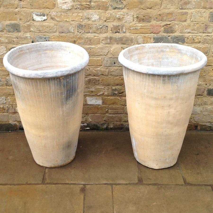 Pair of Long Tom Planters