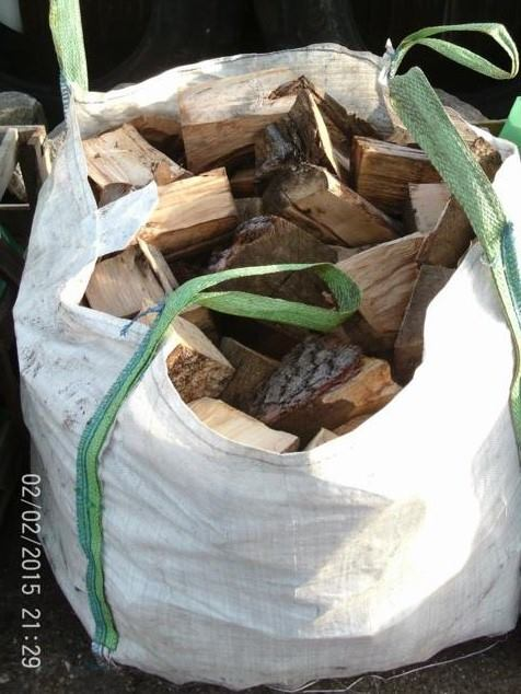 Dried logs. Nets & Tonne bags available. Mostly hardwood.