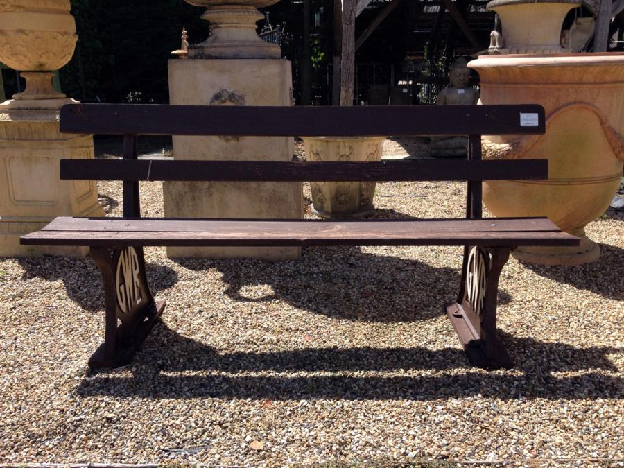 A  Reclaimed Reproduction GWR Bench