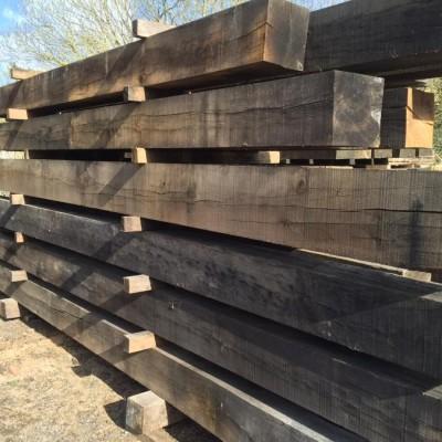 Air Dried Oak Beams To Clear