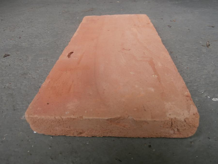 New handmade terracotta floor tiles