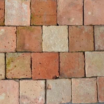 carreaux anciens terre cuite 12 x12cm - antique French tiles