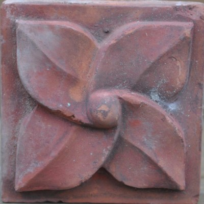 antique Decorative terracotta bricks -nippled leafmill