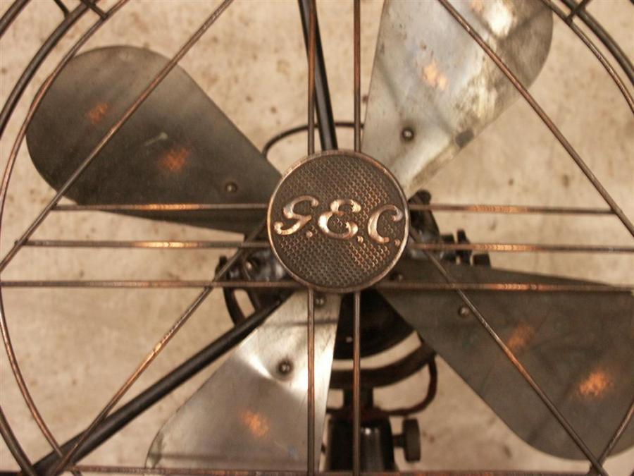 large original gec electric fan