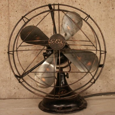 large original gec electric fan