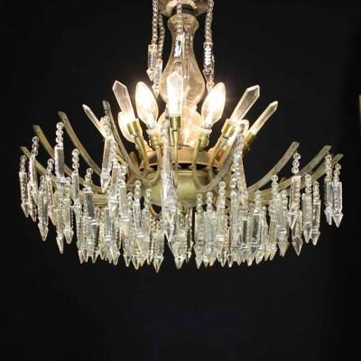 A 1930s Art Deco chandelier