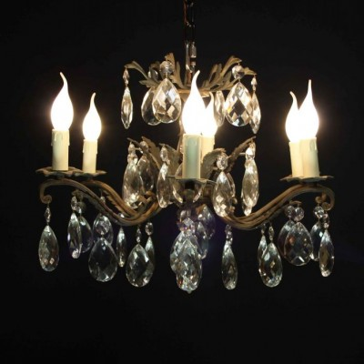 An early 20th C. six branch French Chandelier