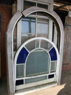 1509230353-Arched-top-pine-sash-window-with-four-blue-glass-panes-sold-253-est-150--4.jpg