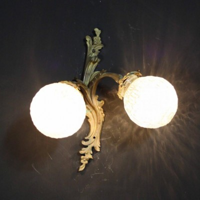 An early 20th C. French wall light