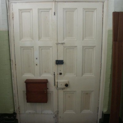 2 pairs of  victorian double doors