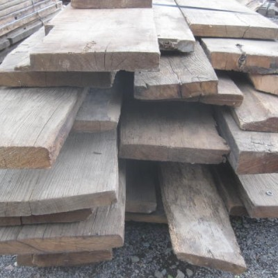 Thick planks antique oak and chestnut