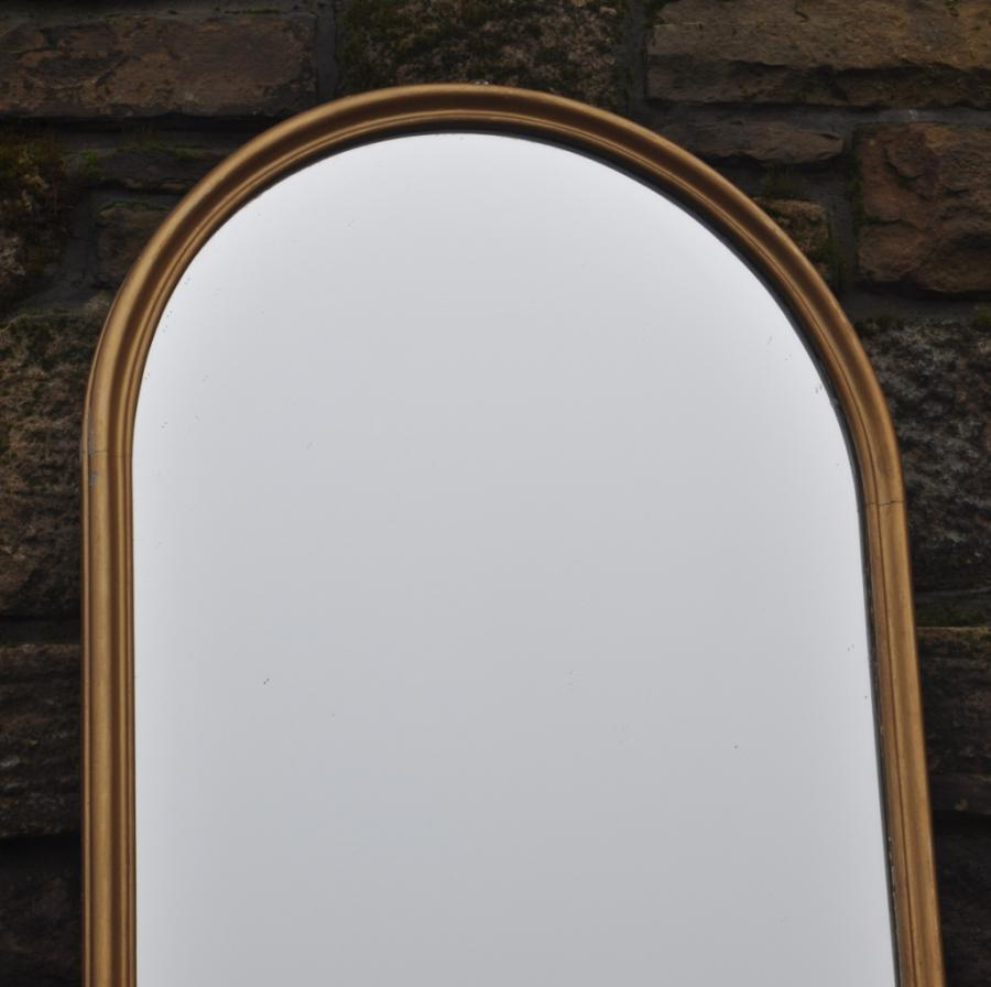 eight foot antique victorian arched mirror