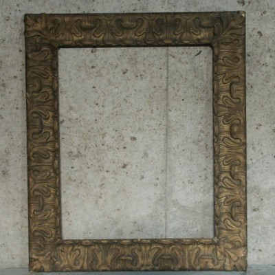 19 century gesso picture frame