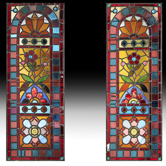 News Eastlake Stained Glass Door Panels Top Kamelot Architecturals