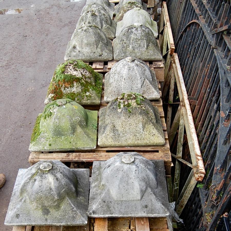 Reclaimed Constituted Stone Pier Caps