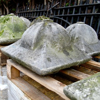 Reclaimed Constituted Stone Pier Caps