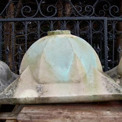 Large Portland Stone Pier Caps