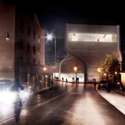 Reclaimed railway sleeper ideas, BIG and Soho House