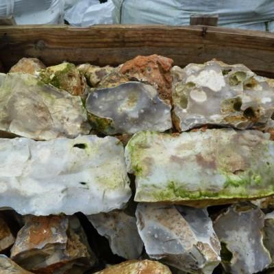 silex gris - flint walling stone
