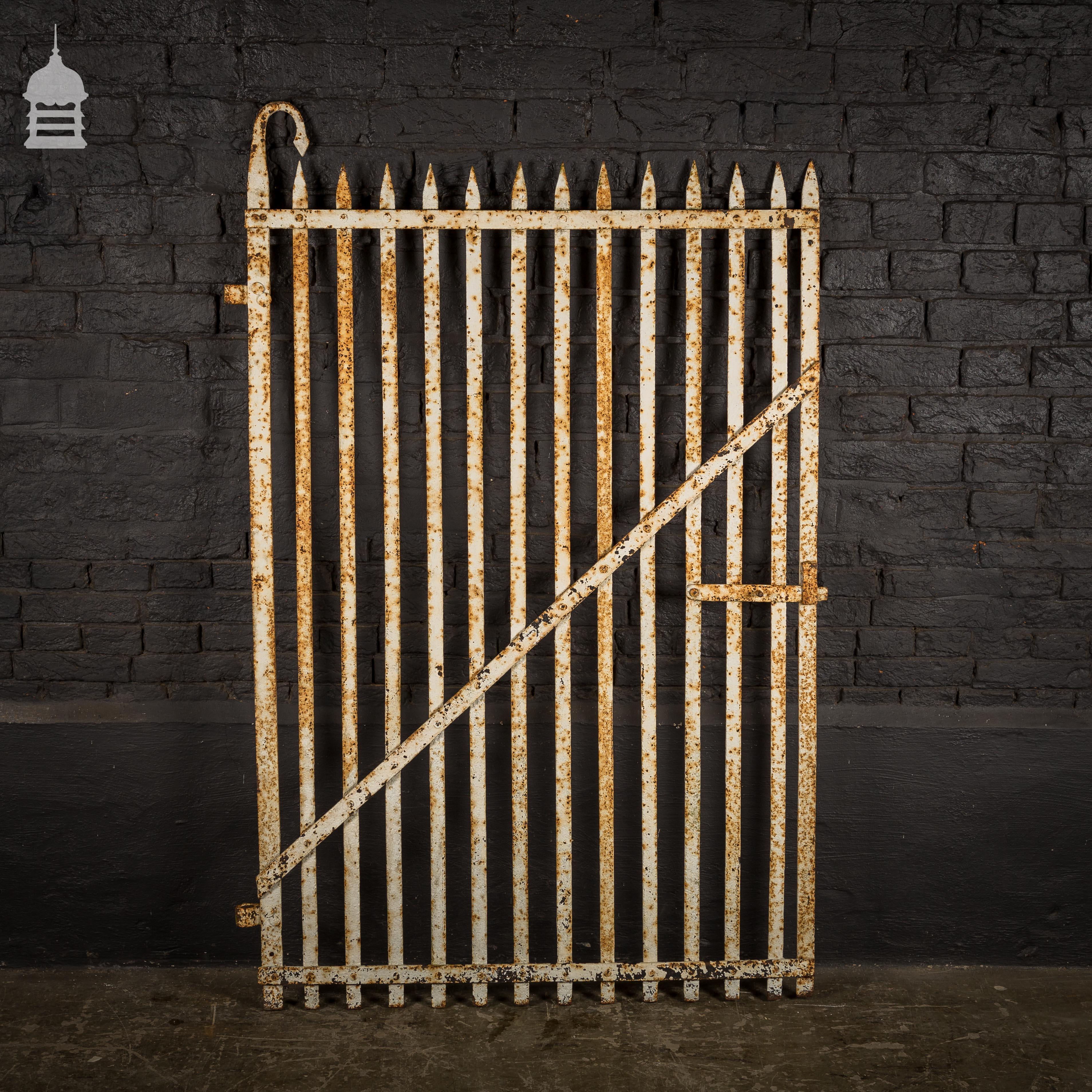 For Sale Georgian Wrought Iron Garden Gate - SalvoWEB UK