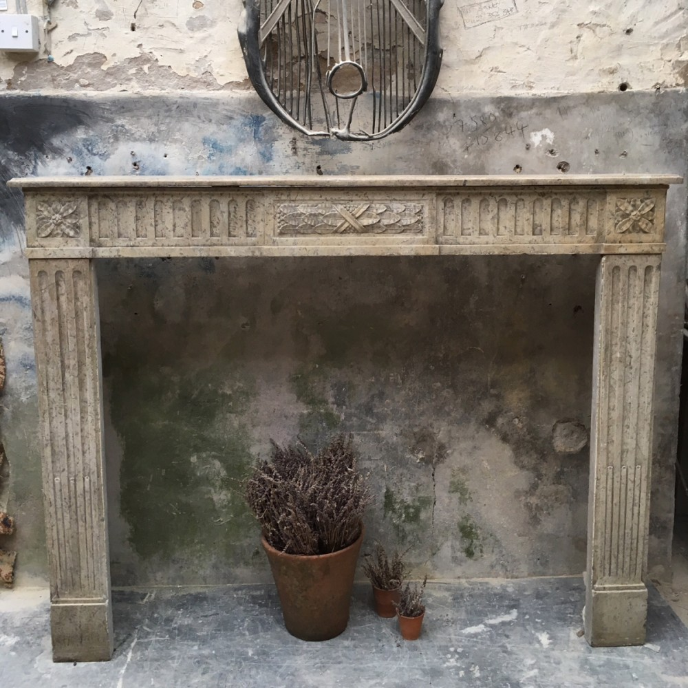 For Sale Antique French Stone Fireplace Salvoweb Uk