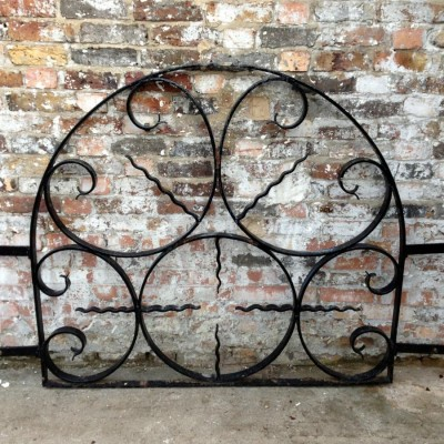 Arched Iron Window Grills