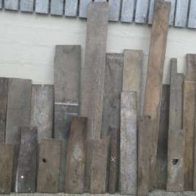 Reclaimed  18th / 19th century oak  floorboards.