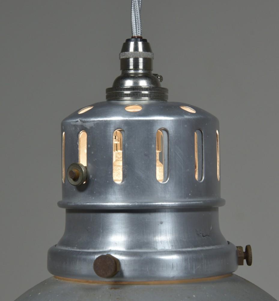 Gecoray antique mirrored/silvered pendant light