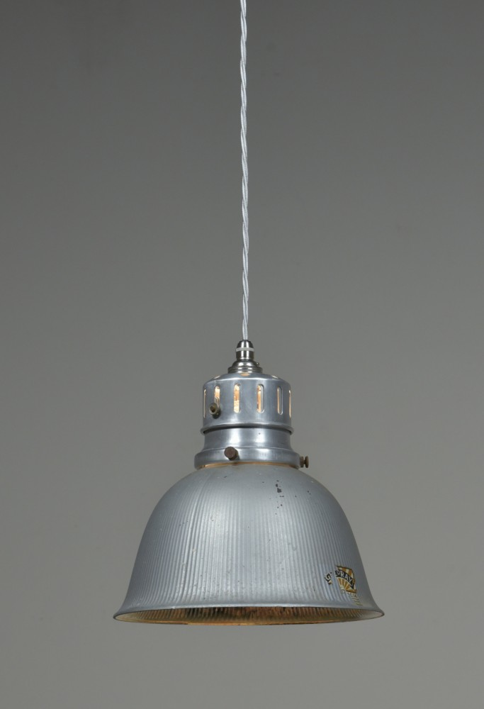 Gecoray antique mirrored/silvered pendant light