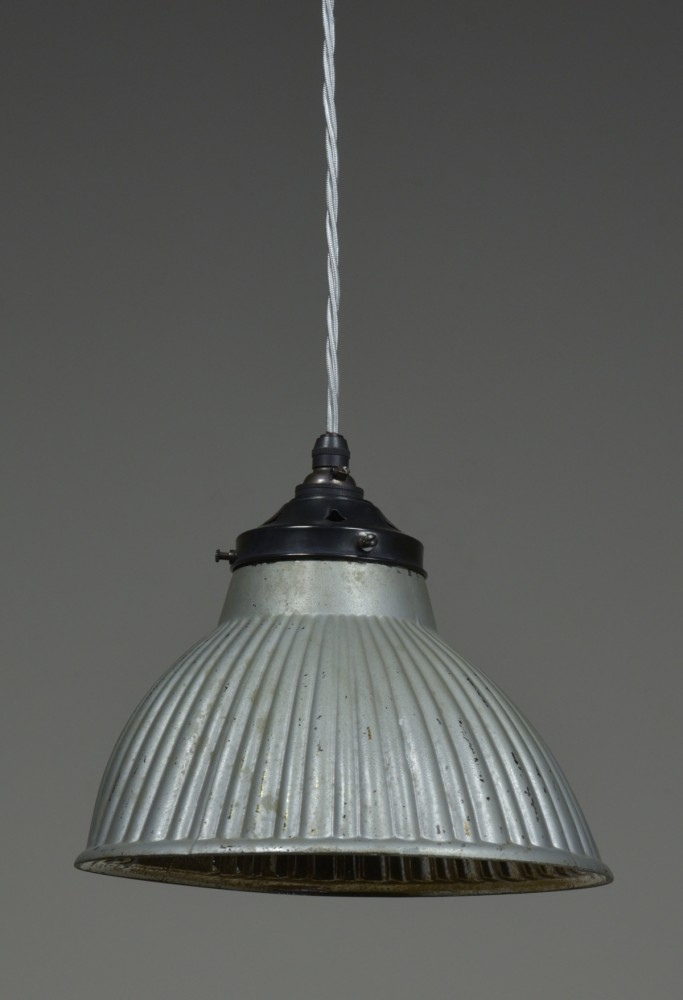 Asymmetrical antique mirrored/silvered pendant light-1