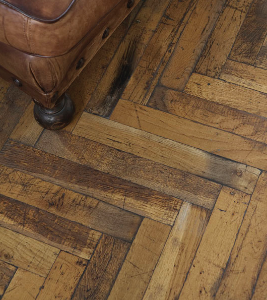 For Sale Reclaimed Oak Parquet From Church In Harrow Bitumen Removed